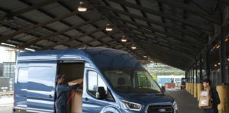 New Transit will feature a power side load door