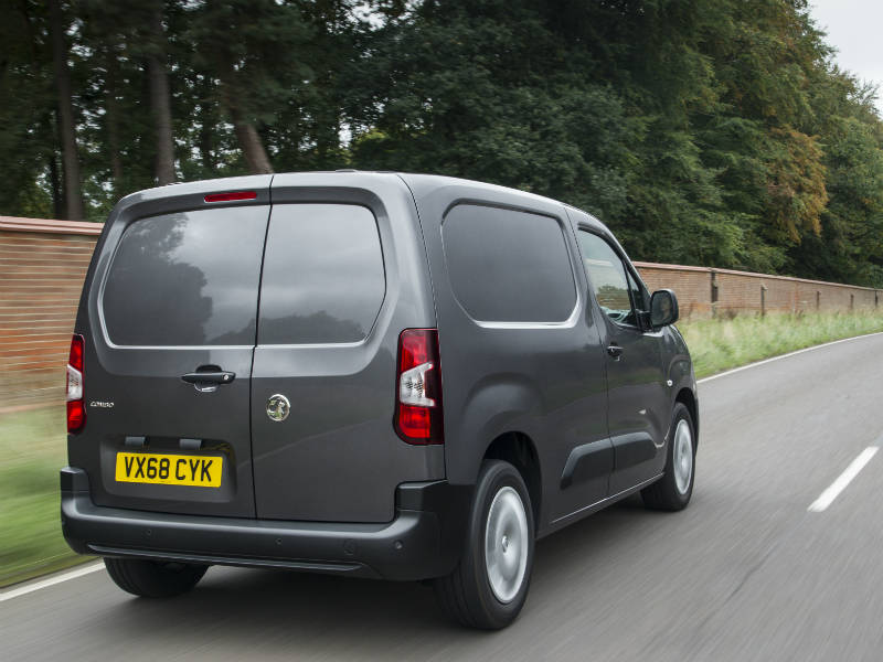 c9ed5485b986a3 All-new Vauxhall Combo voted International Van of the Year ...