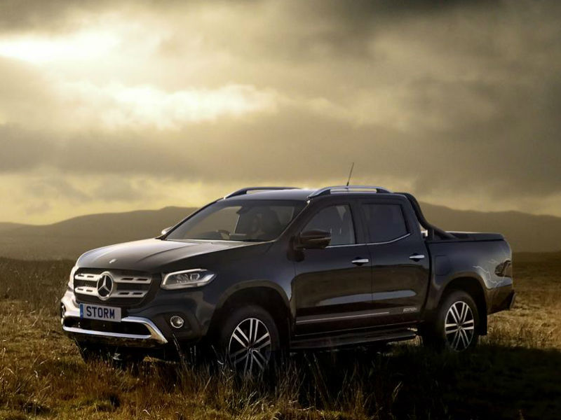 Mercedes Launches Black Friday Leasing Offers On X Class