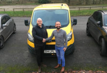 KeyFinance helps TCB Designs of Burnley buy a new Ford Transit Custom