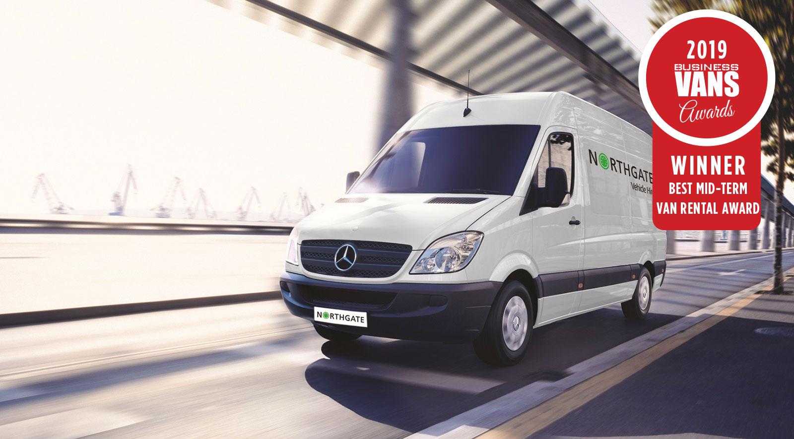 44b034ce87 Best Mid-Term Van Rental Award – Northgate plc - Business Vans